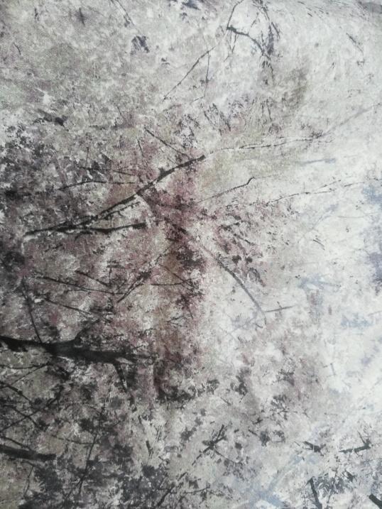 white tree fabric