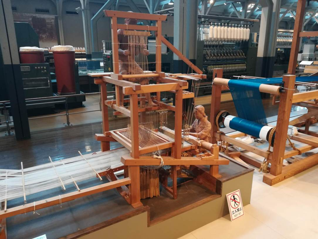 Manual weaving