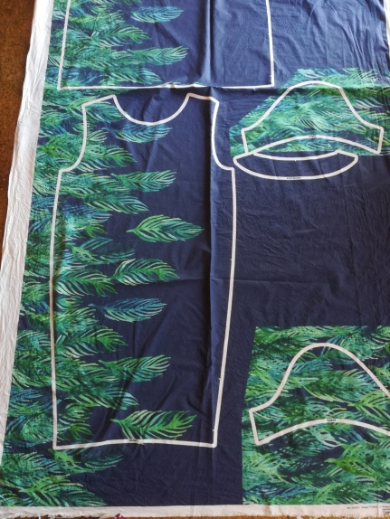 Pre-printed fabric